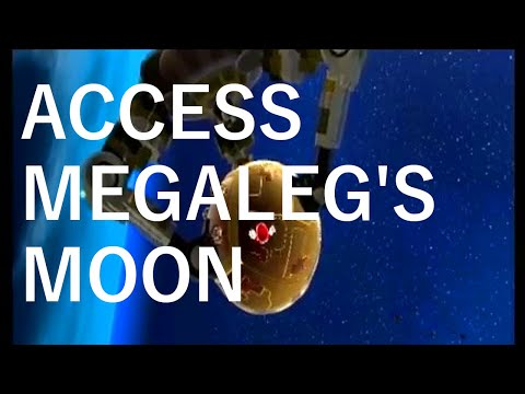 Super Mario Galaxy - Megaleg's Moon Access Glitch