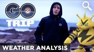Real Life Weather Analysis | Pokemon GO Australia Field Test by GOtrip