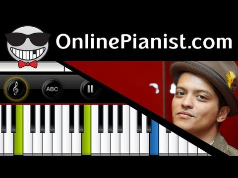 treasure - http://www.OnlinePianist.com Beginner version available on our website!! Request a song - http://www.facebook.com/OnlinePianist Learn how to play Treasure by...