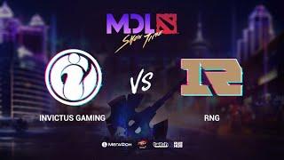 Invictus Gaming vs RNG, MDL Macau 2019, bo1, [Mael & Inmate]