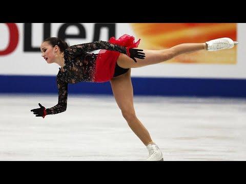 Η Ζαγκίτοβα παγκόσμια πρωταθλήτρια στο καλλιτεχνικό πατινάζ.…