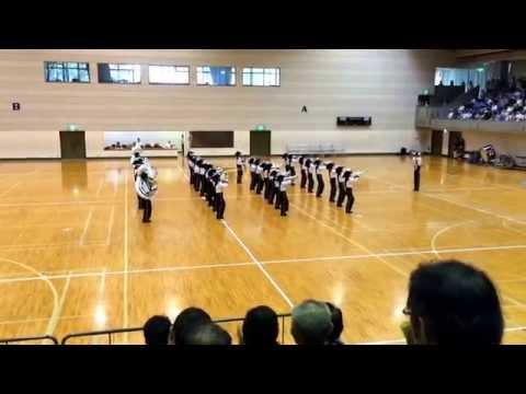 2015-08-21 山梨県マーチングコンテスト 甲西中学校