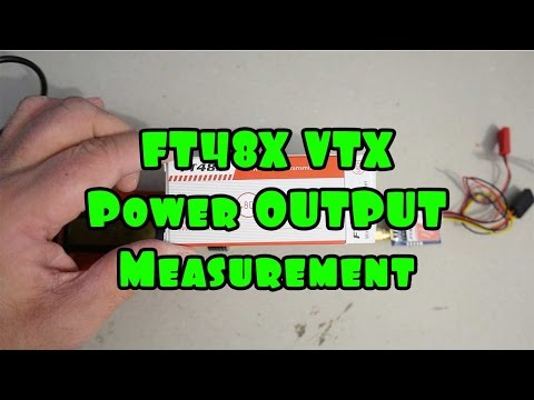 FT48X vtx power output measurement