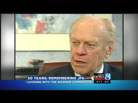 President Gerald Ford on JFK Assassination, Warren Commission