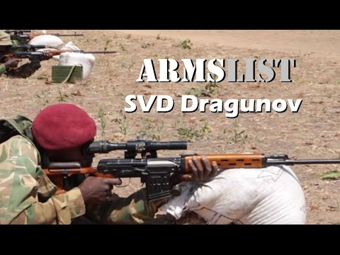 SVD Dragunov 7.62×54mmR Sniper Rifle