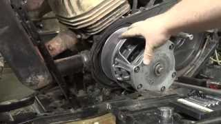 7. Polaris Trailblazer 250 - Primary Clutch Removal
