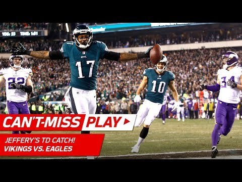Video: Barnett's Strip Sack Sets Up to Foles' 53-Yd TD Strike! | Can't-Miss Play | NFC Championship HLs