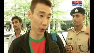 Video Lee Chong Wei hit in the Indian Badminton League MP3, 3GP, MP4, WEBM, AVI, FLV November 2017