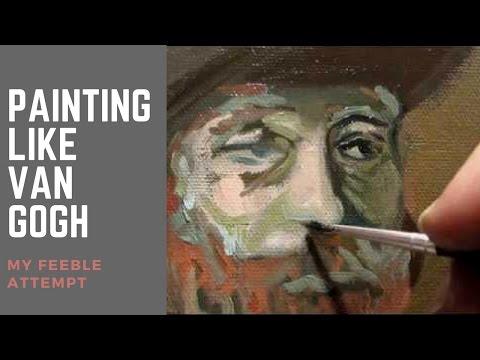 Painting like Van Gogh