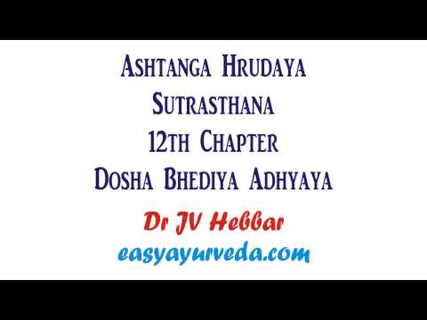 Video Ashtanga Hrudaya Sutrasthana 12th Chapter Shloka Recitation download in MP3, 3GP, MP4, WEBM, AVI, FLV January 2017