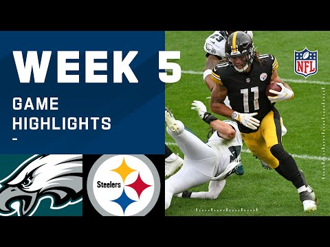 Eagles vs. Steelers Week 5 Highlights | NFL 2020