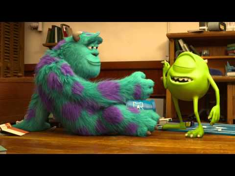 Monsters University Clip - Mike and Sulley meet | Official Disney Pixar HD