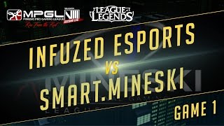 Infuzed vs Mineski, game 1