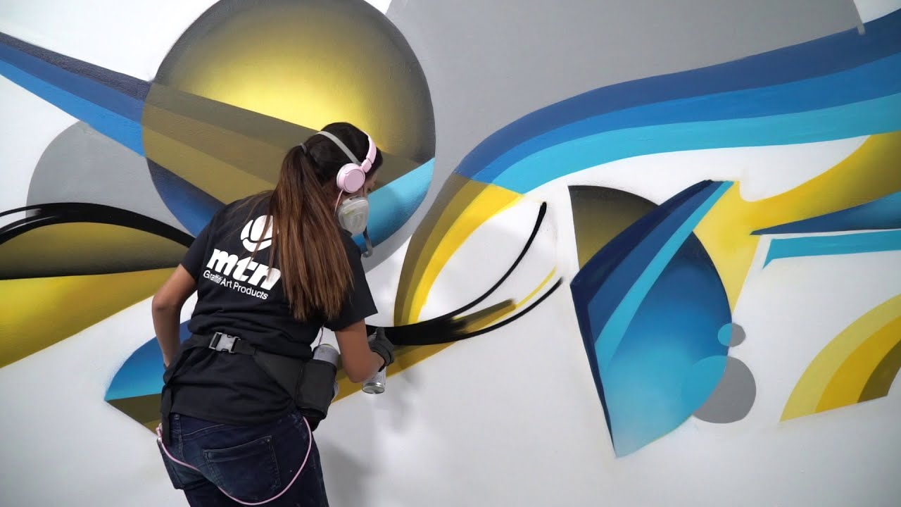 Краска для граффити MTN 94 400 мл в аэрозоле видео