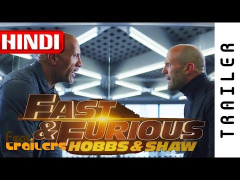 Fast & Furious - Hobbs & Shaw (2019) Official Hindi Trailer #1 | FeatTrailers | FeatTrailers