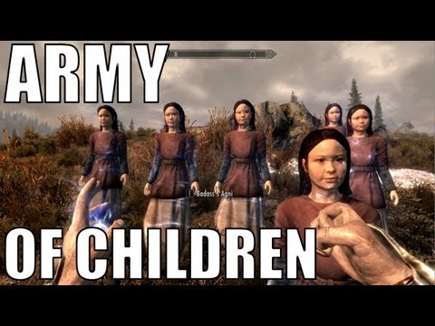 Skyrim - Army of Children
