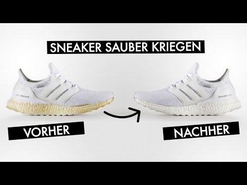 DAMIT SEHEN DEINE SNEAKER AUS WIE NEU | SneakersER