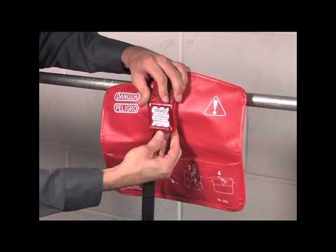 Screen capture of Master Lock Safety 468L - Seal Tight™ Handle-Off Ball Valve Lockout