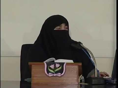 Dr.Farhat Hashmi.          khana khana... aik Ibadat