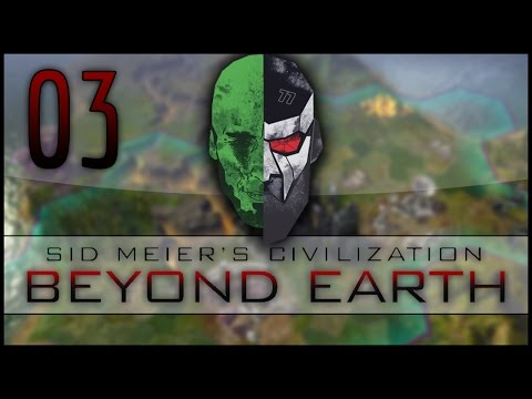 Civilization: Beyond Earth Co-op LP – MadDjinn and Docm77 take on the Aliens – EP03
