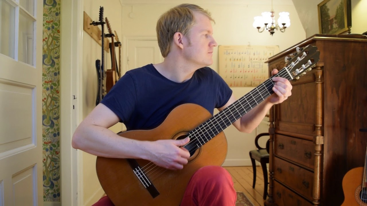 Belle and Sebastian / Belle et Sébastien – Armand Amar (Acoustic Classical Guitar Cover)