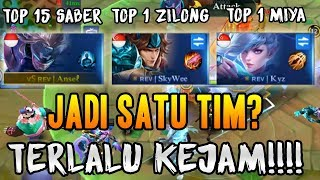 Video TOP 1 ZILONG + TOP 1 MIYA + TOP GLOBAL SABER BERSATU? INI YANG AKAN TERJADI MOBILE LEGENDS INDONESIA MP3, 3GP, MP4, WEBM, AVI, FLV Juli 2018