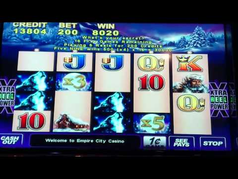 Timber Wolf Slot Bonus
