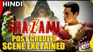 SHAZAM! - Post Credits Scene [Explained in hindi]