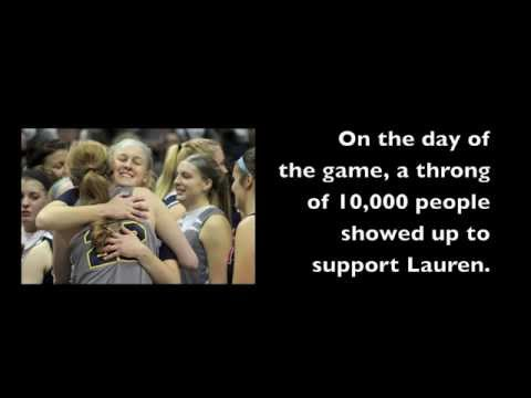 Lauren Hill Tribute - Hiram College