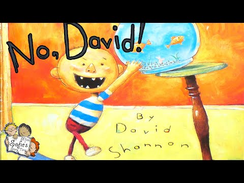 NO DAVID! - KIDS BOOKS READ ALOUD - COUNT ALL HIS TOYS - FUN FOR CHILDREN   DAVID SHANNON