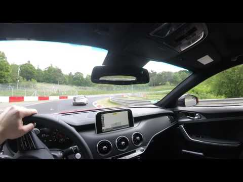 POV Test Drive - 2017 Kia Stinger GT at the Nurburgring Nordschleife
