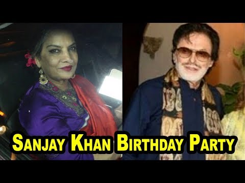 Shabana Azmi At Sanjay Khan Birthday Party
