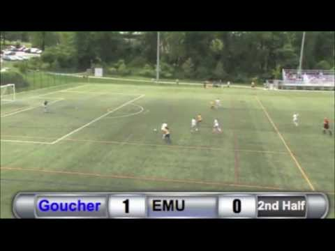 WSC: Goucher vs. EMU Highlights - 8/30/14