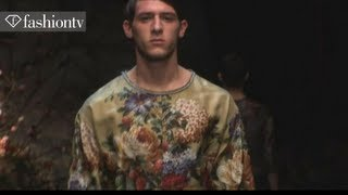 Dolce&Gabbana Men Fall/Winter 2013-14 | Milan Men's Fashion Week | FashionTV