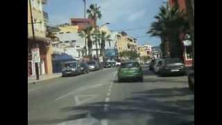 Cala del Moral Spain  city pictures gallery : Desde Cala del Moral a Rincón por la N-340, Málaga, Andalucía