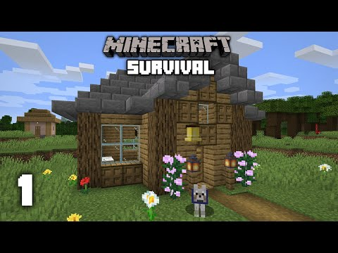 Minecraft: A New Beginning - 1.16 Survival Let's play | Ep 1
