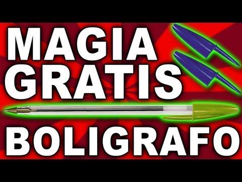 Trucos de magia revelados, excplicados y gratis, truco de magia con lapicera o bolígrafo