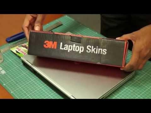3M Laptop Skin Application