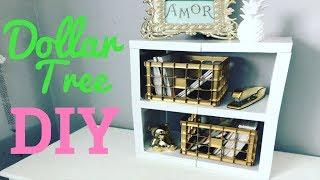 Dollar tree DIY/ shelves / storage system