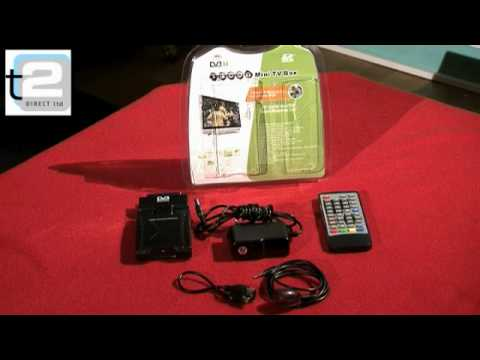 Neostar Mini Scart Freeview Digital TV Receiver & Recorder