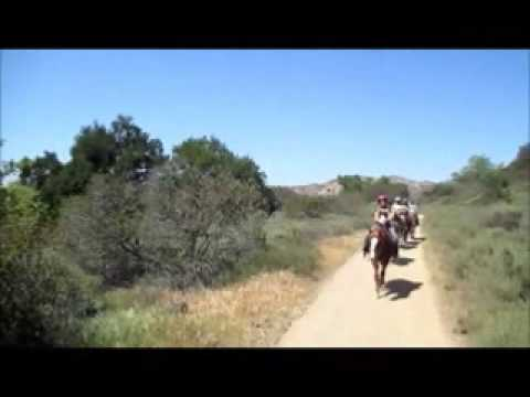 Country Trails Horseback Riding Orange California Irvine Park Family Fun Horse Ride