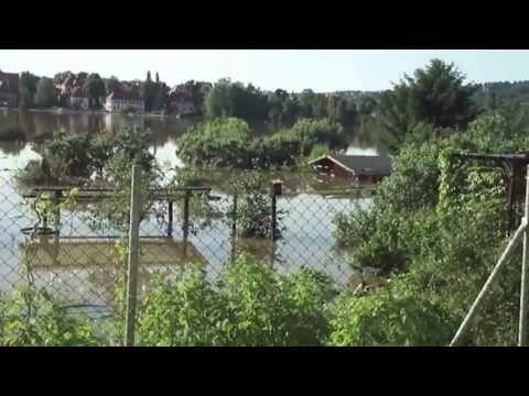 Malorny88 - Hochwasser in Dresden Laubegast 05.06.2013 Die Flut kam nach 11 Jahren zurück nach Dresden, furchtbar.