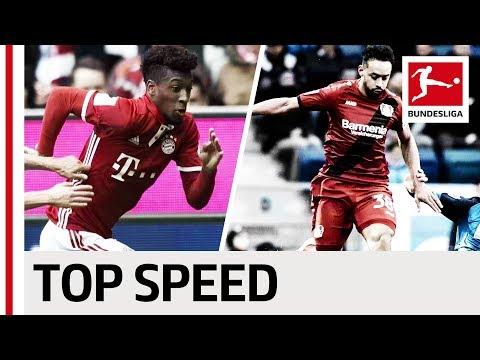 العرب اليوم - بالفيديو: تعرف على أسرع 10 لاعبين في الدوري الألماني