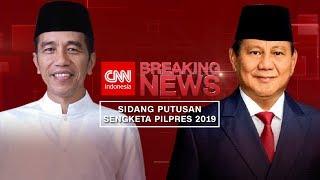 FULL Sidang MK Putusan Gugatan Hasil Pilpres 2019; Jokowi & Prabowo