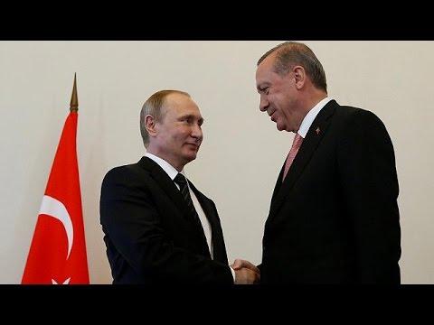 Πούτιν-Ερντογάν: Επίσημη αρχή αποκατάστασης των σχέσεων