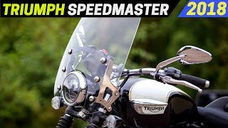 10. NEW 2018 Triumph Bonneville Speedmaster - Better Engines And More Practical Versatility