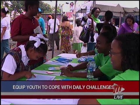 'Paint D Town Green' On World Mental Health Day