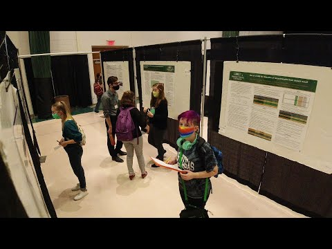 Video thumbnail: Student investigations spotlighted at College of Science and Mathematics' Festival of Research