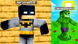 Playing Murder Mystery As Superheroes In Minecraft | JeromeASF