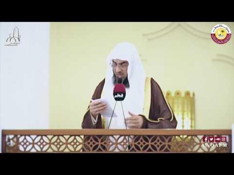 خطبعة بعنوان الكذب للشيخ د. محمد بن حسن المريخي